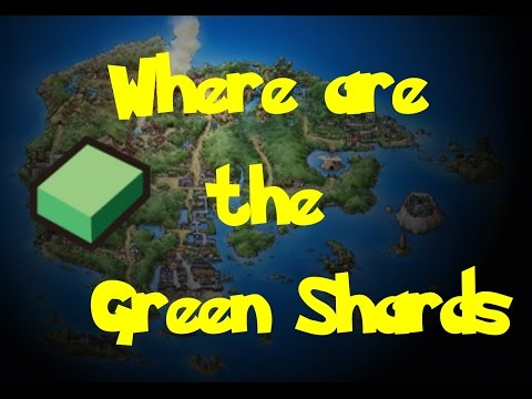 Where Are: The Green Shards (Pokemon Ruby/Sapphire/Emerald)