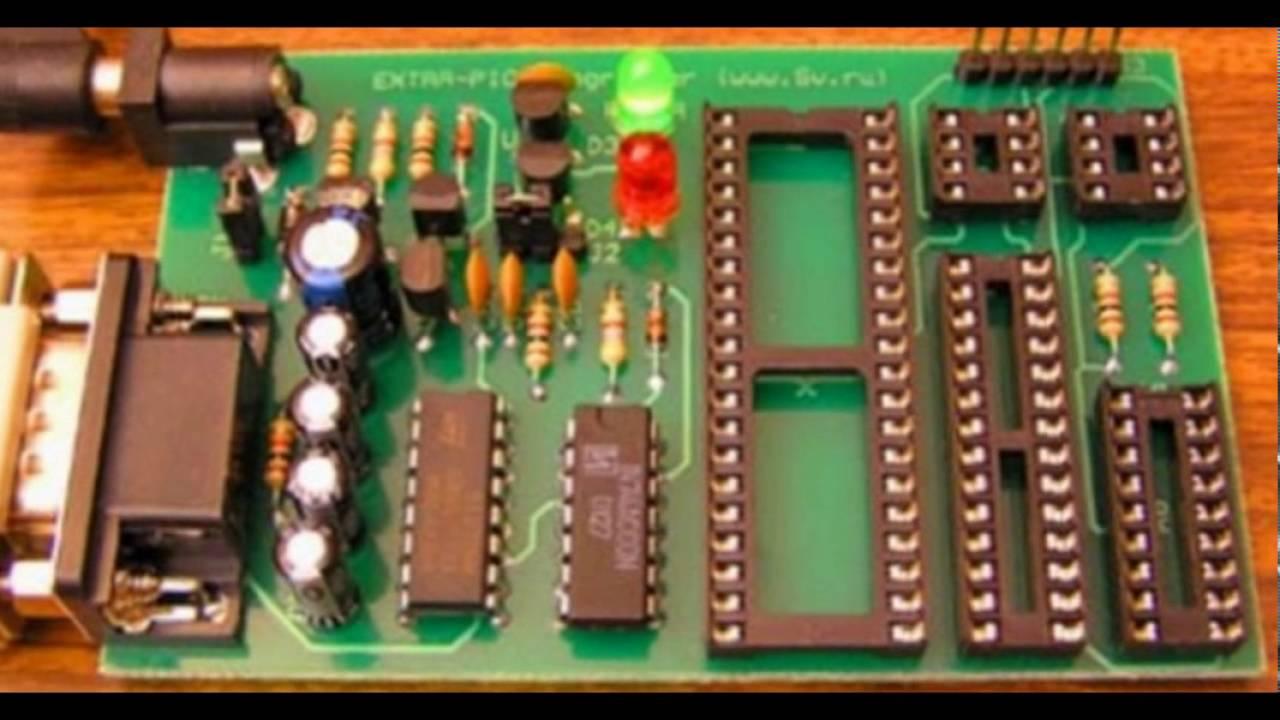 Универсальный программатор PIC-контроллеров
