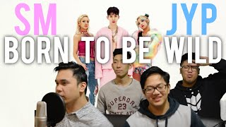 TRIPLE T x SM x JYP | BORN TO BE WILD MV Reaction [4LadsReact]