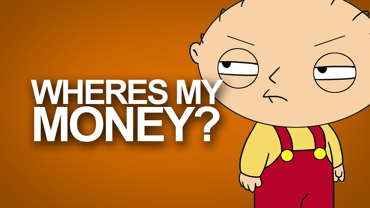 Stewie Hd Wallpaper Wheres My Money Family Guy Typography Hd Youtube