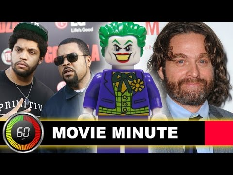 Zach Galifianakis is The LEGO Joker, Straight Outta Compton Box Office Preview - Beyond The Trailer