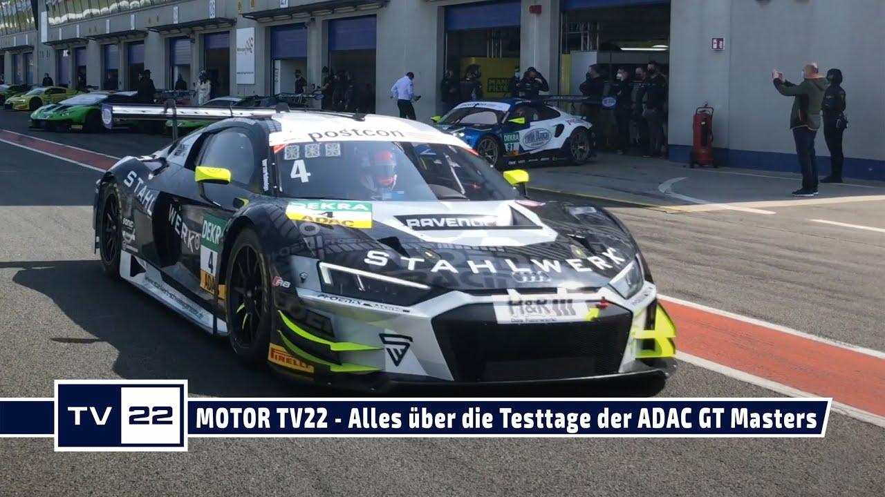 MOTOR TV22: Alle Bilder von den offiziellen Testtagen der ADAC GT Masters in Oschersleben - Teil 1
