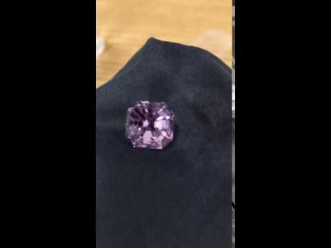 7.1ct Rose de France Asscher by C Morin