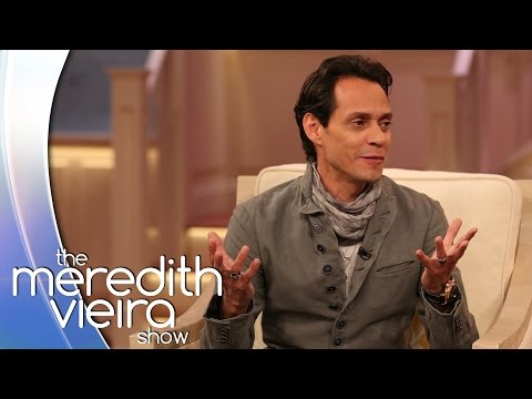 Marc Anthony On Landing His Dream Woman   The Meredith Vieira Show