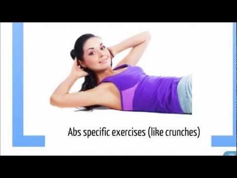 the 3 best abs exercises for a flat tummy  youtube