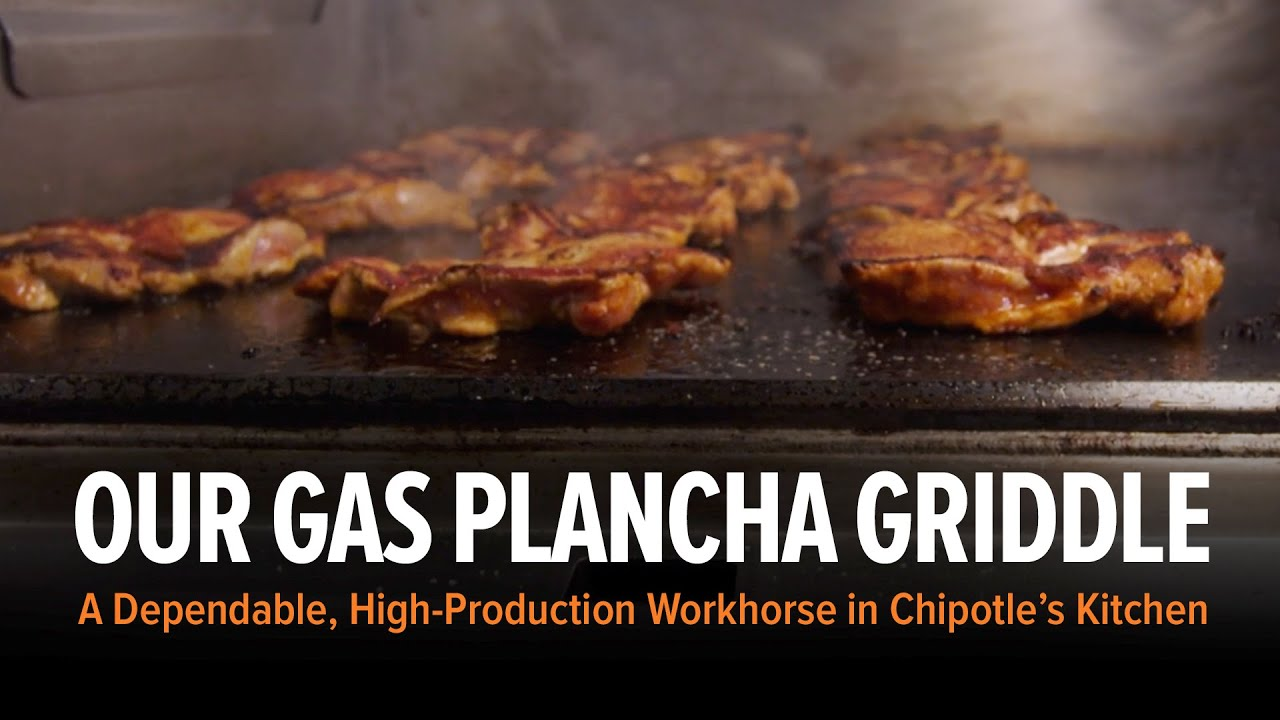 Chipotle Mexican Grill Wood Stone | Plancha (chipotle Mexican Grill) - Youtube