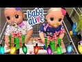 Baby Alive REAL AS CAN BE outing for toys and Looking at Christmas lights