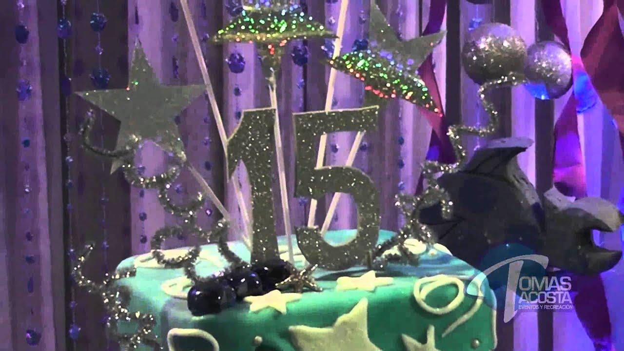 Decoracion bajo el mar youtube for Decoracion de pared para quinceanera