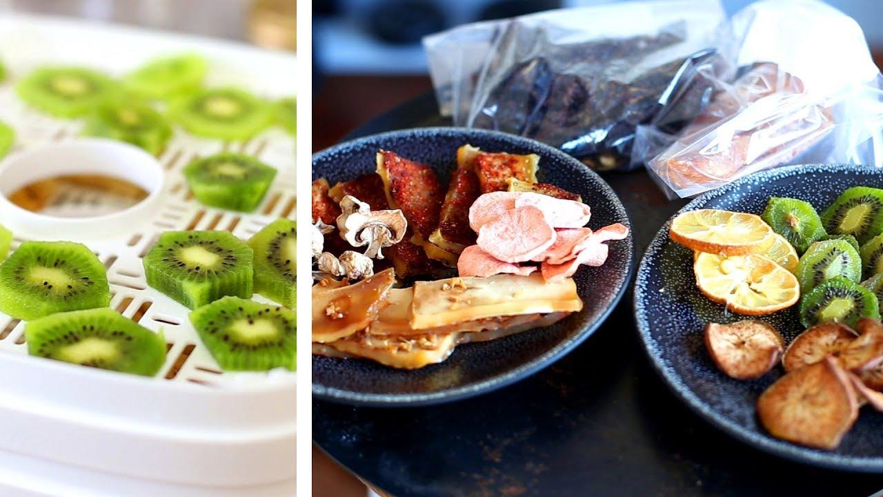 Tests de déshydratations - Snackings : fruits, tofu, poisson, viande...