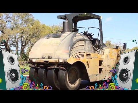 Steamroller Song - Kids Truck Music Videos