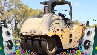 Steamroller Song - Kids Truck Music Videos
