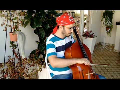 Nossas Cores Erguei (Yo Ho) - (Hoist the colours) cello