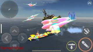 Warship battle seawolf platinum in action