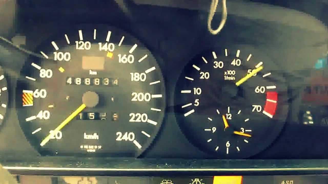 mercedes w126 300 se m104 981 swap tuning