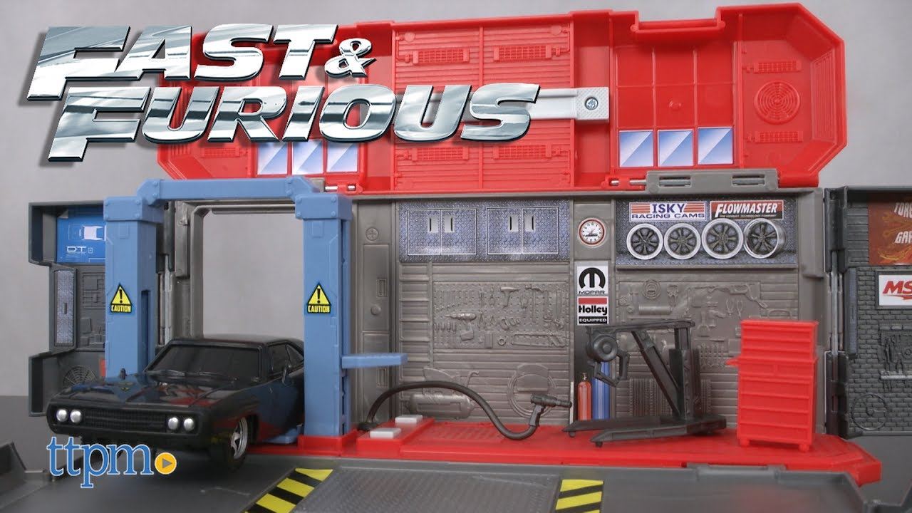 Fast And Furious Doms Auto Shop From Mattel Youtube