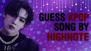 CAN YOU GUESS THE KPOP SONG BY ITS HIGH NOTE PART?? | THIS IS KPOP GAMES