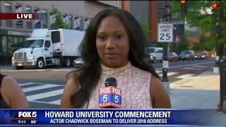 Howard University Graduation is today Chadwick Boseman to give speech