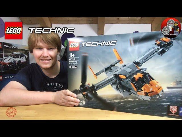Live Lego® Technic 42113 Bell Boeing V-22 Osprey livebuild