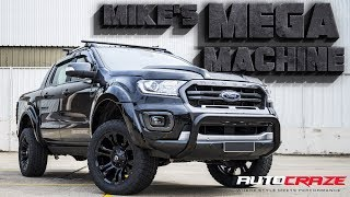 MIKE'S MEGA MACHINE // Modified Ford Ranger - Fuel Vapor Wheels, Tyres, Lift Kit, Flares & More