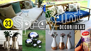 33 Decor ideeën met Spray Paint
