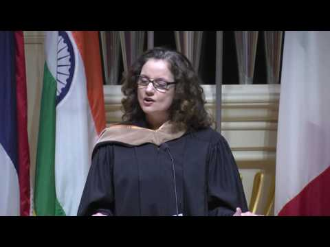 Donna DeMaio challenges graduates to be continuous learners