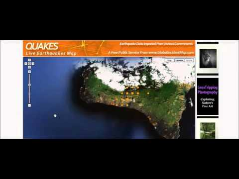 Canary Islands Crazy Earthquakes Pattern ∞ Tsunami ? DH get OFF East Coast 6/25/12 HARP