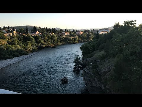 Travelling From Cetinje to Podgorica, Montenegro + Airbnb Apartment Tour