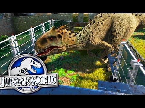Ark Survival Evolved - INDOMINUS REX vs ELECTRIC JURASSIC PARK FENCES - (EP5 Ark Modded)