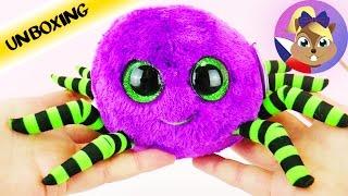 Roztomilý Glubschi pavouk se zelenými nohami | TY Beanie Boos