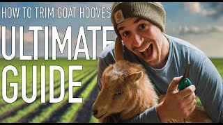 HOW TO TRIM GOAT HOOVES: The Complete Guide