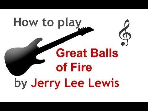 Great Balls of Fire guitar lesson, with chords - guitarguitar.net ...
