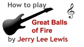 Great Balls of Fire guitar lesson, with chords - guitarguitar.net Mp3
