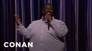 David Gborie Stand-Up 12/20/16  - CONAN on TBS