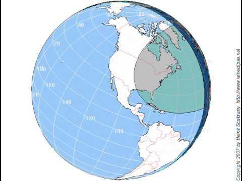 Totale Sonnenfinsternis am 08.04.2024