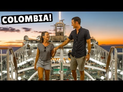 Cruising to COLOMBIA! Coffee in Cartagena & Street Food in Santa Marta