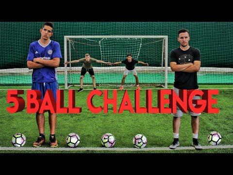 5 BALL CHALLENGE w/ Idzo, Veki & Sekula