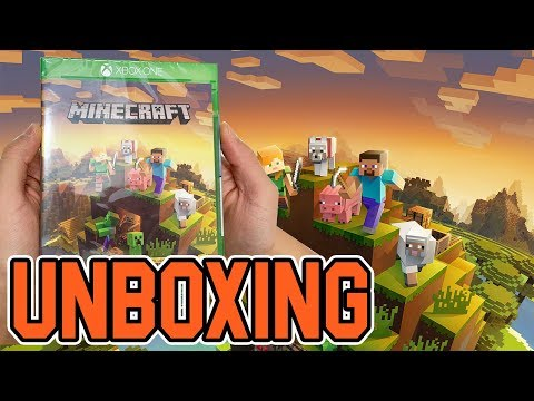 Minecraft Master Collection (Xbox One) Unboxing!!