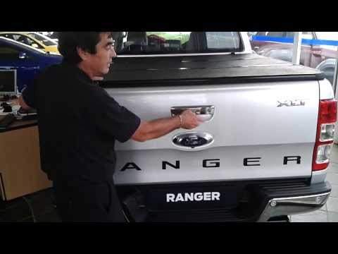 Tonneau King - Ford Ranger Double Cab Hard Tonneau Cover