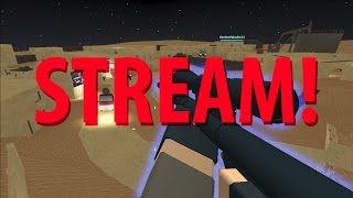 ROBLOX Mostly Phantom Forces Beta Live Stream