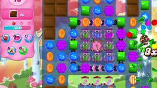 Candy Crush Saga Level 3040 NO BOOSTERS (25 moves)