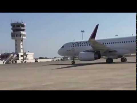 Amritsar International Airport- first landing of vistara domestic airline