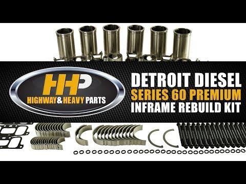 Detroit Diesel Series 60 Inframe Rebuild / Overhaul Kit From Highway And Heavy Parts