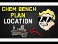Where to Find Chem Bench Plan Fallout 76 | Hidden Chinese Bunker