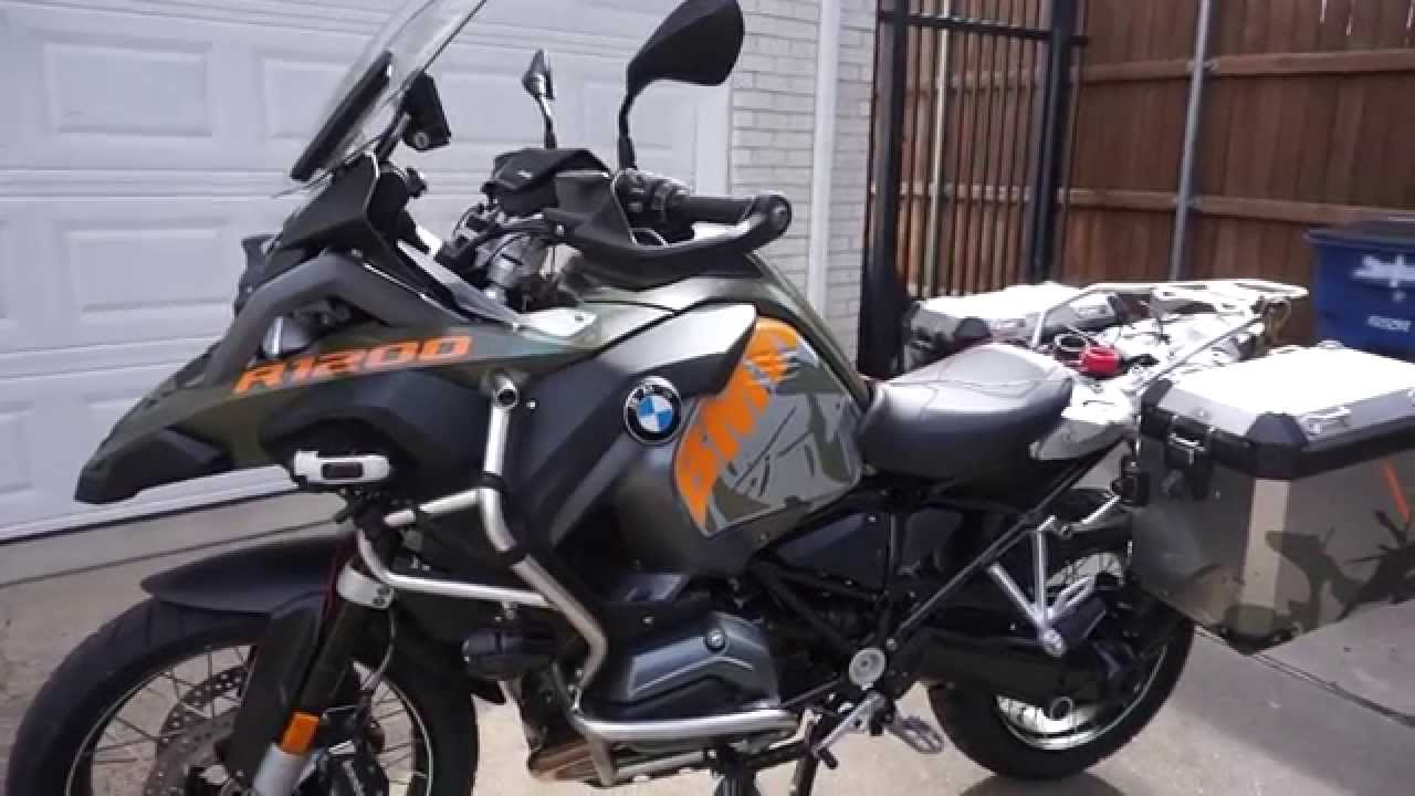 2015 BMW GSA LC Vinyl protection or paint?