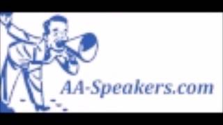 """NEW AA Speaker Chris H. """"One Day at a Time"""""""