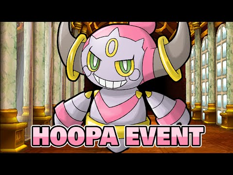 HOOPA! POKEMON X & Y - HOOPA EVENT & INGAME BATTLE GAMEPLAY! [HOOPA EVENT DEUTSCH]