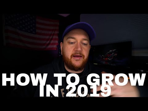 HOW TO BLOW UP ON YOUTUBE AND TWITCH IN 2019!