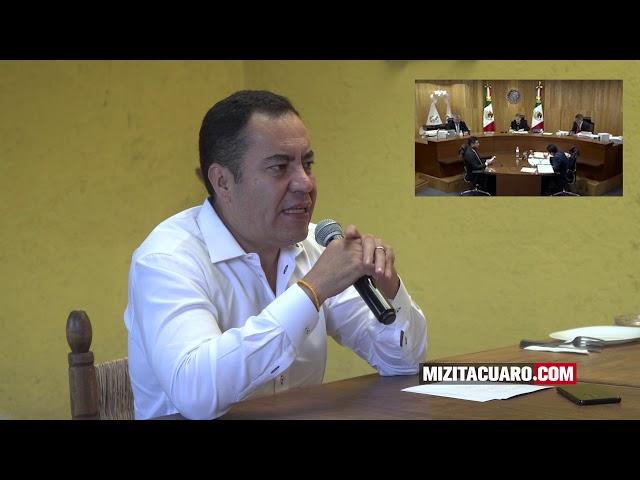Ratifican triunfo electoral de Carlos Herrera Tello en Zitácuaro