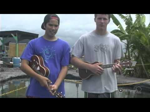PBS Hawaii - HIKI N? Episode 108 | West Hawaii Explorations Academy | How to Play the Ukulele