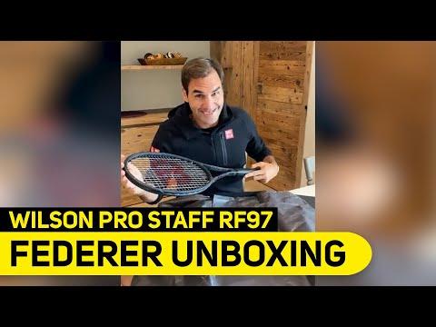 Roger Federer unboxing